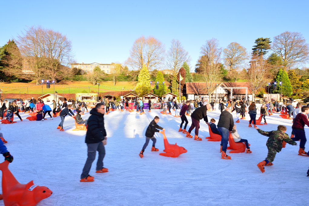 Father Christmas 2019 What's on in Kent December Father Christmas Ice Skating Tunbridge
