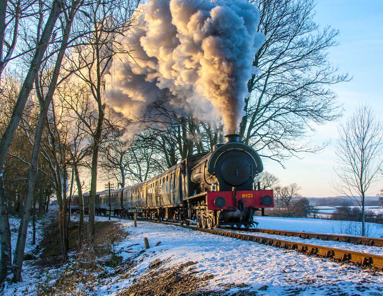 Full Steam  Ahead Santa Specials when you Visit Kent